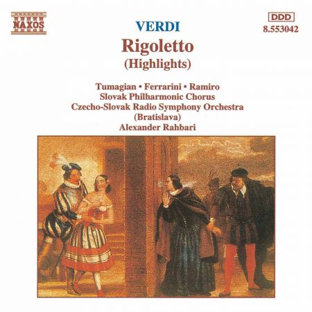Verdi: Rigoletto (Highlights) - CD