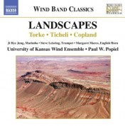 Paul Popiel, University of Kansas Wind Ensemble: Landscapes - CD