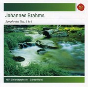 NDR-Sinfonieorchester, Günter Wand: Brahms: Symphony No 3 & 4 - CD