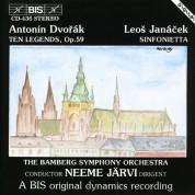 Bamberg Symphony Orchestra, Neeme Järvi: Dvorák: Ten Legends;  Janácek Sinfonietta - CD