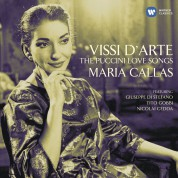 Maria Callas, Giuseppe Di Stefano, Anna Moffo, Nicolai Gedda, Elisabeth Schwarzkopf: Maria Callas - Vissi d'Arte, The Puccini Love Songs - CD
