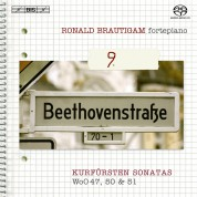 Ronald Brautigam: Beethoven: Complete Works for Solo Piano, Vol. 9 on forte-piano - SACD