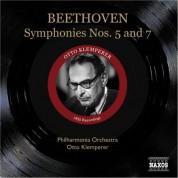Beethoven: Symphonies Nos. 5 and 7 (Klemperer) (1955) - CD