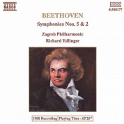 Zagreb Philharmonic Orchestra: Beethoven: Symphonies Nos. 5 and 2 - CD