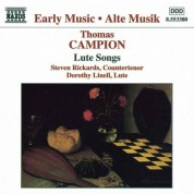 Steven Rickards: Campion: Lute Songs - CD