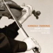 Vadim Gluzman, Residentie Orkest Den Haag, Neeme Järvi: Korngold & Dvarionas: Violin Concertos - CD