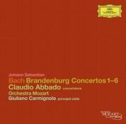 Claudio Abbado, Giuliano Carmignola, Orchestra Mozart: Bach, J.S.:  6 Brandenburg Concertos - CD