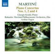 Giorgio Koukl: Martinu: Piano Concertos Nos. 1, 2, 4 - CD
