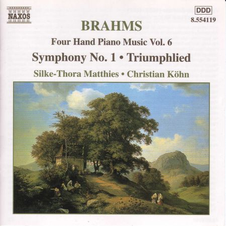 Christian Kohn, Silke-Thora Matthies: Brahms: Four-Hand Piano Music, Vol.  6 - CD