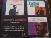 Ornette Coleman: 3 Originals (The Shape Of Jazz To Come / Something Else, The Music Of... / Tomorrow Is The Question) - CD