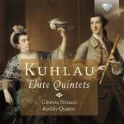 Ginevra Petrucci, Kodály Quartet: Kuhlau: Flute Quintets - CD