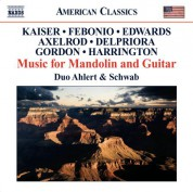 Duo Ahlert and Schwab: American Music For Mandolin And Guitar - CD