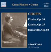 Chopin: Etudes (Complete) (Cortot, 78 Rpm Recordings, Vol. 3) (1933-1949) - CD