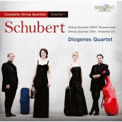 Diogenes Quartet: Schubert: String Quartets Vol. 1 - CD
