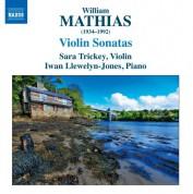 Sara Trickey: Mathias: Violin Sonatas - CD