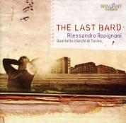 Alessandro Appignani, Yoko Kanamaru, Wolfgang Emanuel Schmidt, Quartetto d'archi di Torino: Appignani: The Last Bard - CD