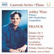 Piano Recital: Ashley Wass - CD