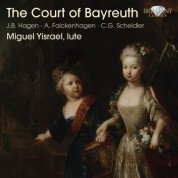 Miguel Yisrael: The Court of Bayreuth (Falckenhagen, Hagen) - CD