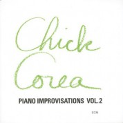 Chick Corea: Piano Improvisations Vol. 2 - CD