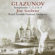 José Serebrier, Royal Scottish National Orchestra: Glazunov: Symphonies 1,2,3 & 9 - CD