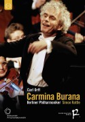Sally Matthews, Lawrence Brownlee, Christian Gerhaher, Berliner Philharmoniker, Sir Simon Rattle: Orff: Carmina Burana - DVD