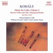 Kodaly: Duo for Violin and Cello / Hungarian Rondo / Adagio for Cello / Sonatina - CD