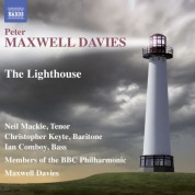 members BBC Philharmonic Orchestra, Ian Comboy, Christopher Keyte, Neil Mackie, Sir Peter Maxwell Davies: Davies: The Lighthouse - CD