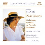 Silver: Piano Concerto / Six Preludes - CD