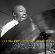 Art Blakey & The Jazz Messengers - Moanin' (Images by Iconic Photographer Francis Wolff) - Plak