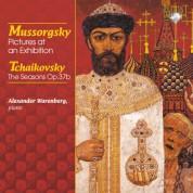 Alexander Warenberg: Mussorgsky: Pictures at an Exhibition - Tchaikovsky: The Seasons Op. 37b - CD