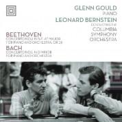 Glenn Gould, Leonard Bernstein, Columbia Symphony Orchestra: Beethoven, Bach: Piano Concerto No. 2, Piano Concerto No. 1 - Plak