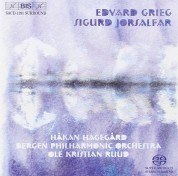 Ole Kristian Ruud, Bergen Philharmonic Orchestra: Grieg - Sigurd Jorsalfar - SACD
