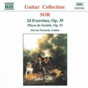 Steven Novacek: Sor: 24 Exercises, Op. 35 / Pieces De Societe, Op. 33 - CD