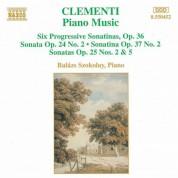 Clementi: 6 Progressive Piano Sonatinas, Op. 36 / Piano Sonatas - CD