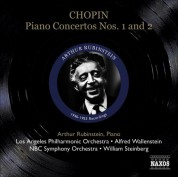 Artur Rubinstein: Chopin, F.: Piano Concertos Nos. 1 and 2 (Rubinstein) (1946, 1953) - CD