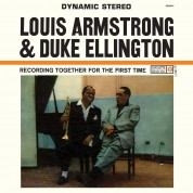 Louis Armstrong, Duke Ellington: Recording Together For The First Time - Plak