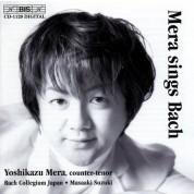 Yoshikazu Mera: Mera sings Bach - CD