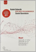 Radek Baborák, Berliner Philharmoniker, Daniel Barenboim: Europakonzert 2006 from Prague (DVD & BD CATALOGUE) - DVD