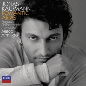 Jonas Kaufmann, Marco Armiliato, Prague Philharmonic Orchestra: Jonas Kaufmann - Romantic Arias - CD