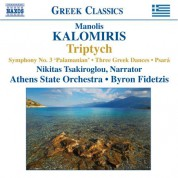 Byron Fidetzis: KALOMIRIS: Symphony No. 3 / Triptych / 3 Greek Dances - CD