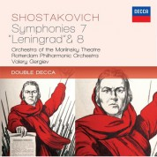 Orchestra of the Mariinsky Theatre, Rotterdam Philharmonic Orchestra, Valery Gergiev: Shostakovich: Symphonien 7 & 8 - CD