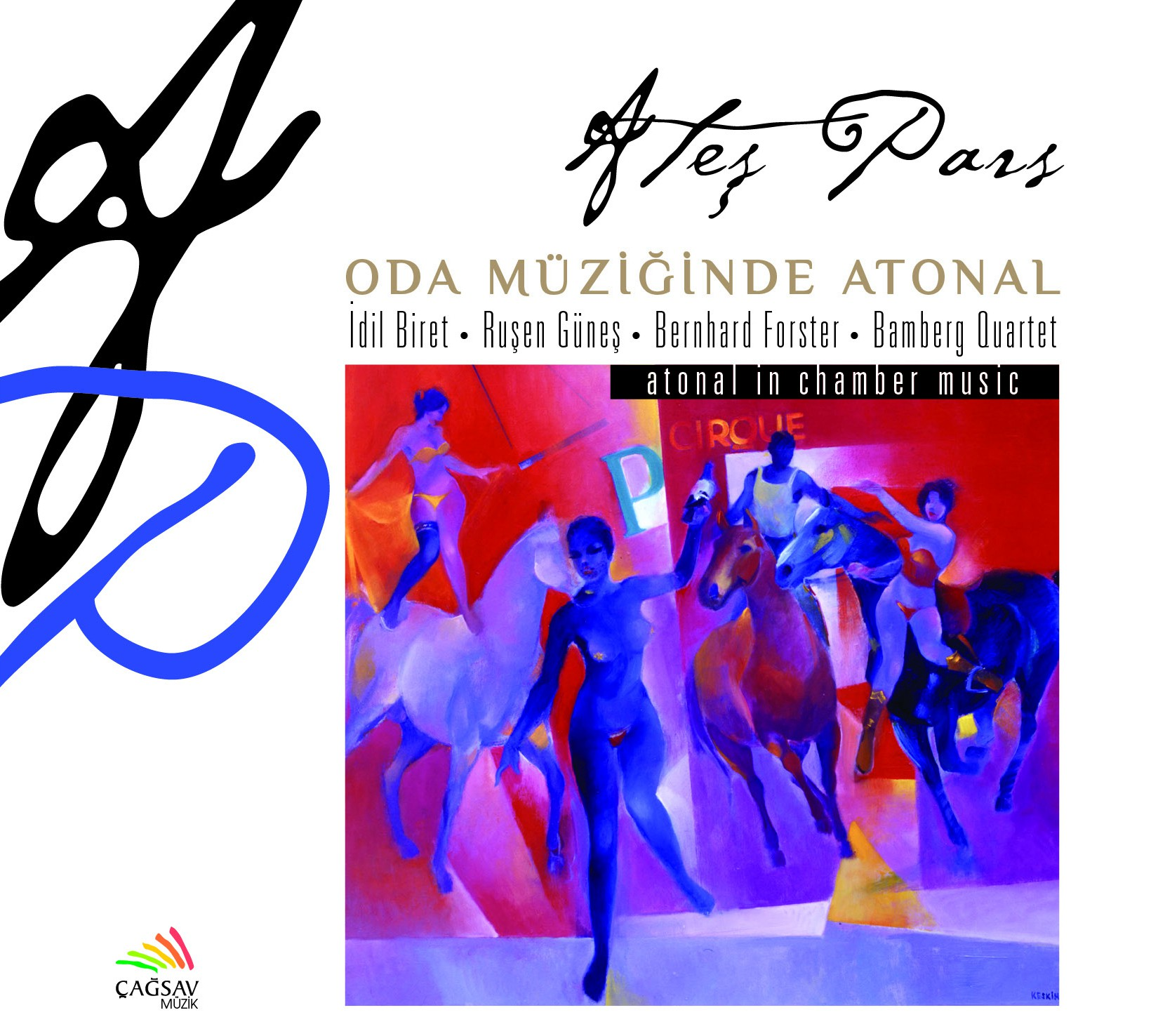 Ateş Pars: Pars: Oda Müziğinde Atonal - CD - Opus3a