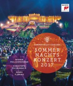 Wiener Philharmoniker, Renée Fleming, Christoph Eschenbach: Summer Night Concert 2017 - BluRay