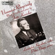 Leonidas Kavakos, Péter Nagy: Kreisler: Viennese Rhapsody - Music for violin and piano - CD