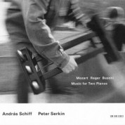 András Schiff, Peter Serkin: Mozart / Reger / Busoni: Music for Two Pianos - CD