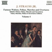 Strauss II: Waltzes, Polkas, Marches and Overtures, Vol. 4 - CD