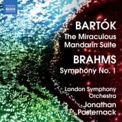 Jonathan Pasternack: Bartok: The Miraculous Mandarin Suite - Brahms: Symphony No. 1 - CD