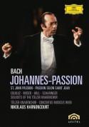 Concentus Musicus Wien, Nikolaus Harnoncourt, Soloists of the Tölzer Knabenchor, Tölzer Knabenchor: Bach, J.S.: Johannes-Passion - DVD