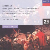 Antal Doráti, Philharmonia Hungarica: Kodály: Háry János Suite - CD