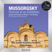 Peter Breiner, New Zealand Symphony Orchestra: Mussorgsky: Pictures at an Exhibition - Songs & Dances of Death - The Nursery (Orchestrated by Peter Breiner) - CD